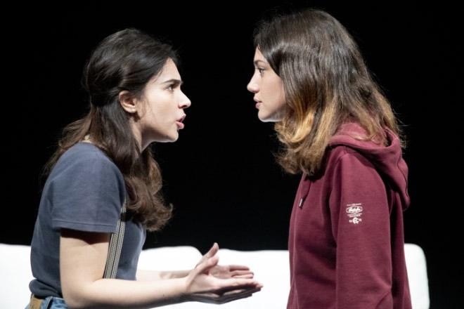 Federica Di Cori e Marina Benetti in Due amiche. Foto di Manuela Giusto