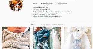 Filiberto Noah Di Vaio su Instagram