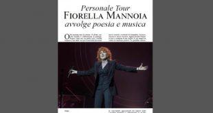Fiorella Mannoia - Lo speciale su Personale Tour su La Gazzetta dello Spettacolo Magazine di Luglio 2019