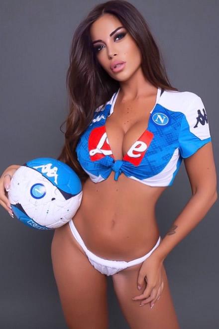 Floriana Messina per il Calcio Napoli