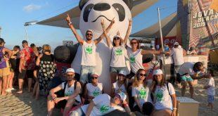 Foto del WWF al Jova Beach Party