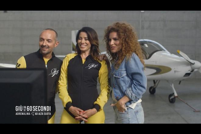 Giù in 60 secondi con Aida Yespica