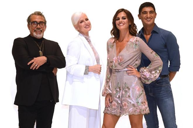 Guillermo Mariotto, Carla Gozzi, Bianca Guaccero e Giampaolo Gambi per Detto Fatto 2019