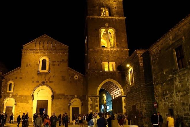 Il borgo di Casertavecchia che ospita Settembre al borgo 2019