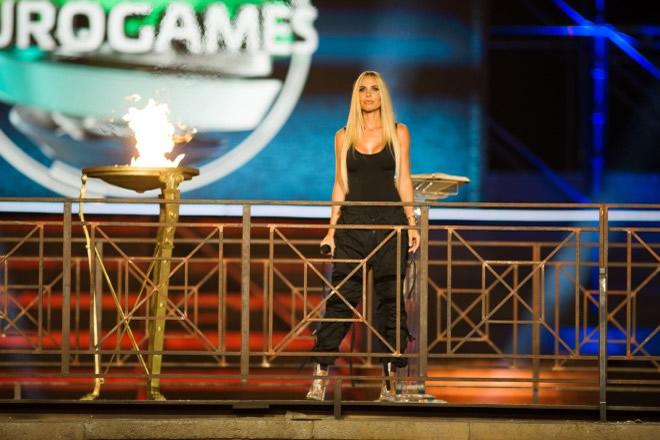 Ilary Blasi per Eurogames