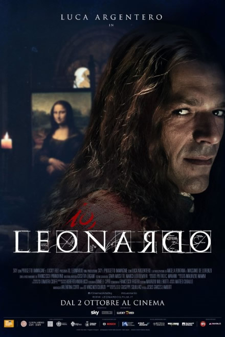 Io Leonardo con Luca Argentero