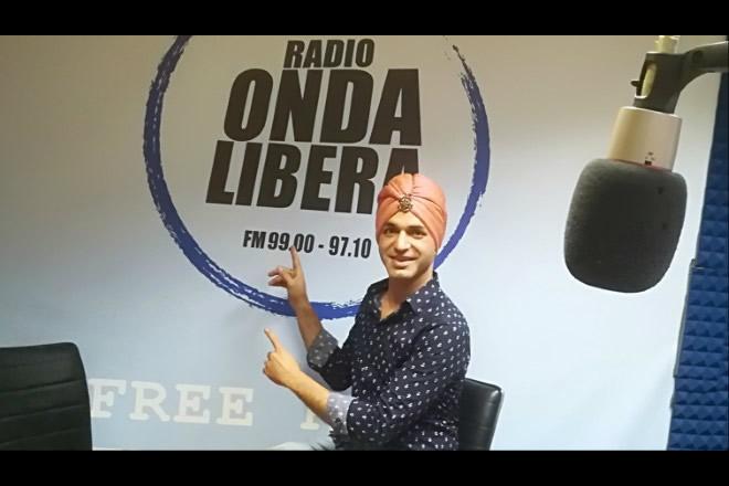 Krassym a Radio Onda Libera