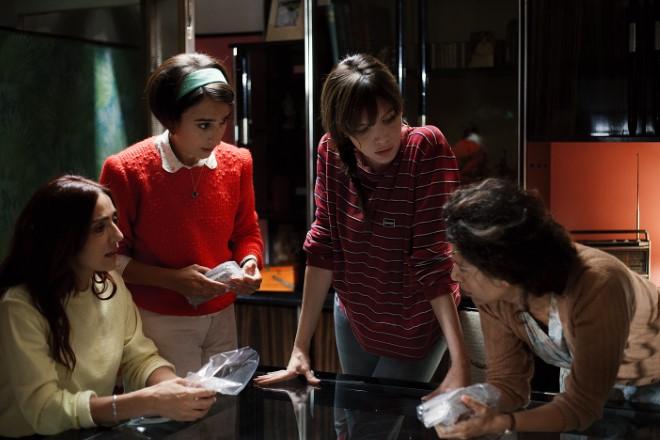 Le 4 protagoniste in una scena di Brave Ragazze