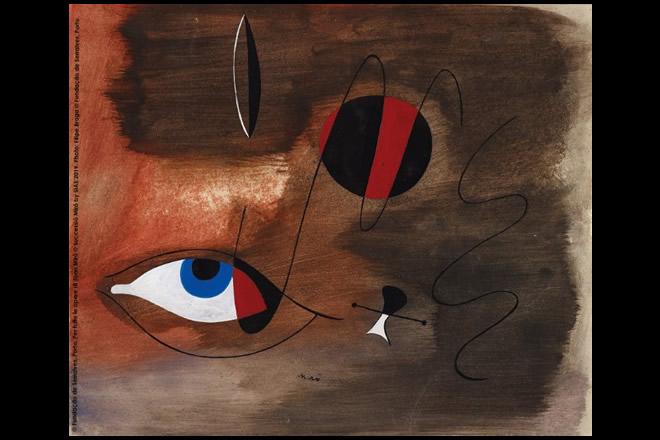 L'opera di Joan Miró. Foto da Ufficio Stampa