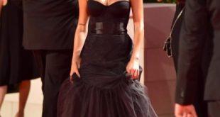 Ludovica Pagani sul red carpet di Venezia76. Foto da Ufficio Stampa