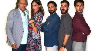 Martufello, Alessia Fabiani, Andrea Dianetti, Gabriele Carbotti, Leonardo Bocci nel cast di Tre uomini e una cuccia