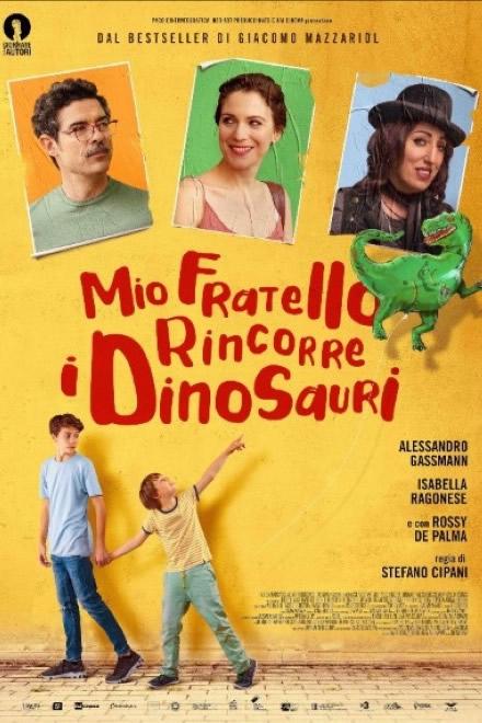 Mio fratello rincorre i dinosauri - Locandina