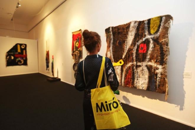 Mostra Vernissage Joan Miró. Foto di Paola Tufo