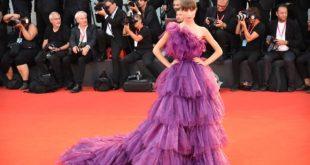 Nicole Macchi sul Red Carpet di Venezia76. Foto di Federica Pierpaoli