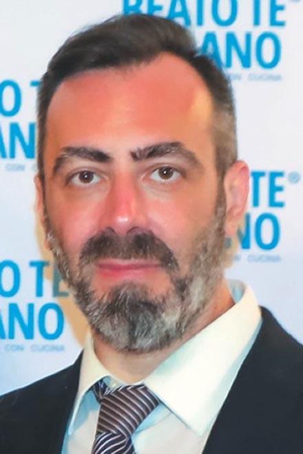 Paolo Paparella. Foto fornita dall'intervistato