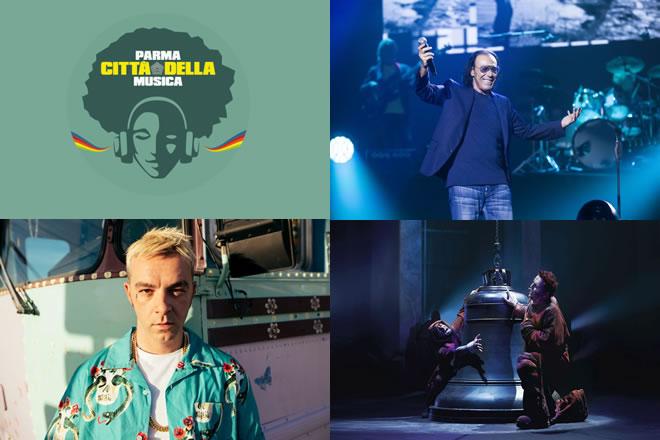 Parma cittàdella musica 2019, gli ospiti