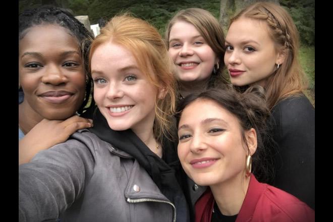 Precious Mustapha, Abigail Cowen, Eliot Salt, Elisha Applebaum,Sadie Soverall nel cast di Fate The Winx Saga. Uploaded by Melissa Terrelonge