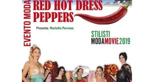 Red Hot Dress Pepper per Moda Movie