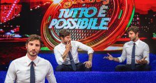 Stefano De Martino, nuovo conduttore di Stasera tutto è possibile su RAI. Foto di Anna Camerlingo
