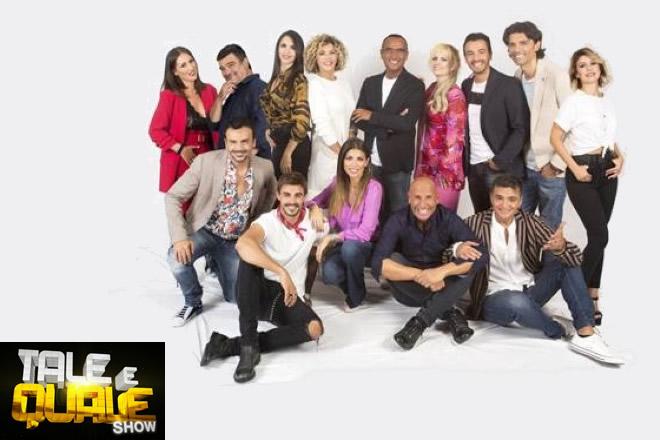 Tale e Quale Show - Cast 2019