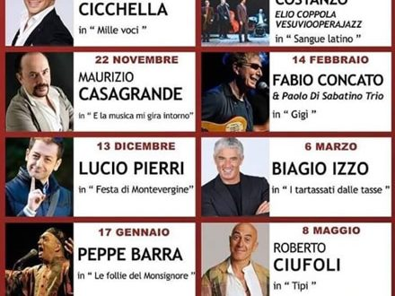 Teatro Summarte, stagione teatrale 2019/20