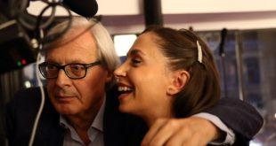 Vittorio Sgarbi e Malena per Così fan tutte. Foto di Francesca Ricciardi