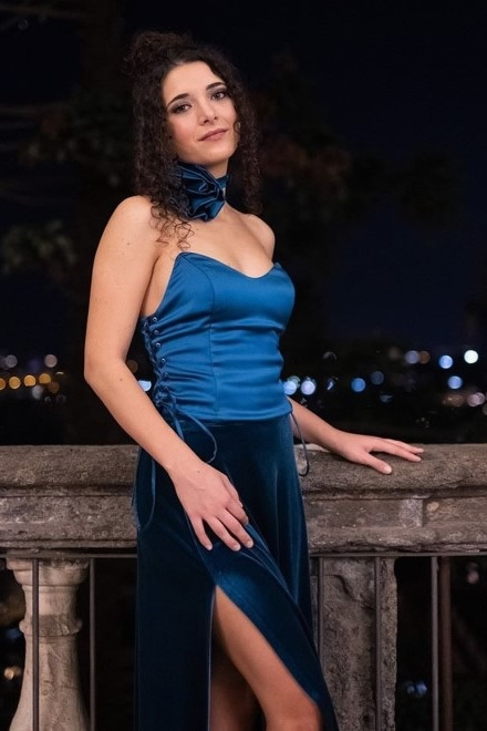 Alessia Lamoglia per Danesi. Foto di Giorgia Bisanti