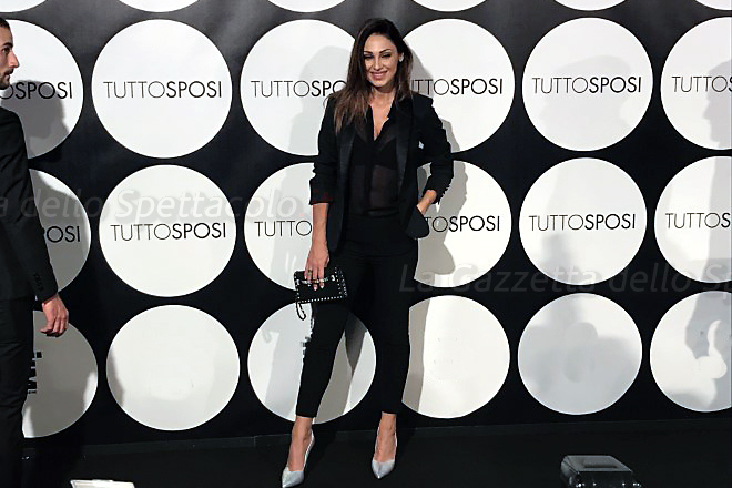 Anna Tatangelo a TuttoSposi 2017