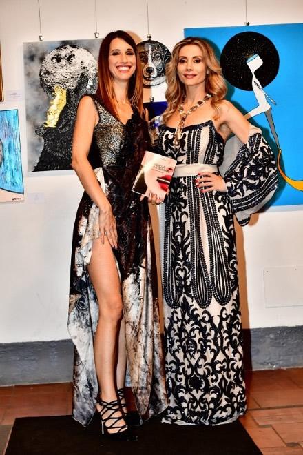 Antonella Salvucci con Fabiana Gabellini. Foto di Daniele Cama