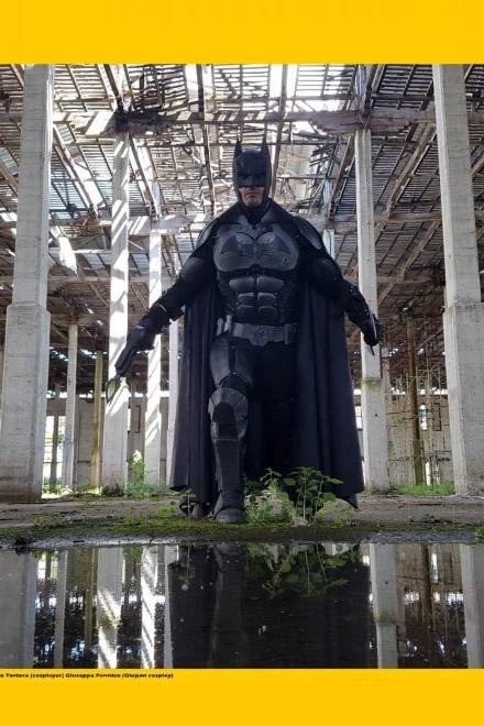 Batman per il Fantasy Day a San Giorgio a Cremano