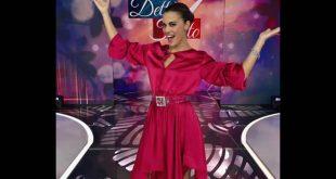 Bianca Guaccero conduce Detto Fatto. Foto da Facebook