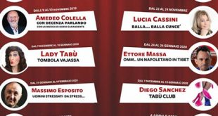 Caffe Teatro Angioino, stagione teatrale 2019-20