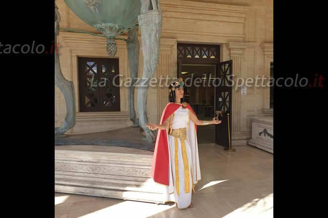 Cleopatra all'accesso del Roma