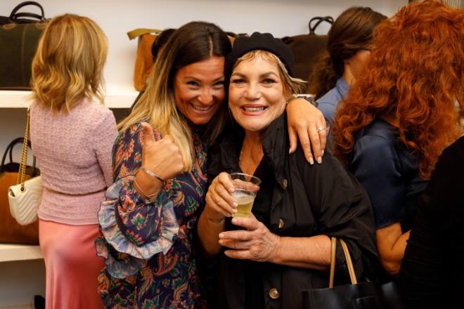 Cristina Donadio all'evento di presentazione. Foto di Romolo Pizi