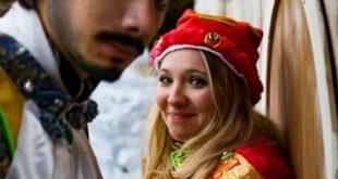 Elfi di Babbo Natale a Siena. Foto da Ufficio Stampa