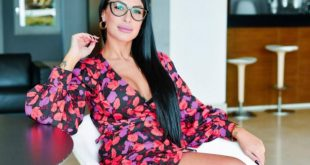 Flavia, la ragazza che si dice figlia di Tonino Lamborghini. Foto da Ufficio Stampa