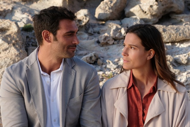 Francesco Arca (Valerio Ruggeri) e Chiara Baschetti (Elena Sereni)