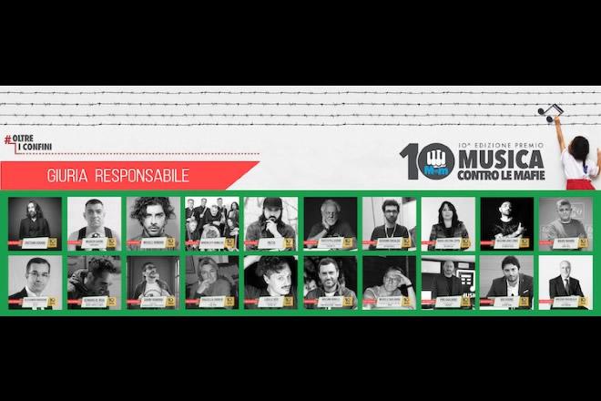 Giuria Premio Nazionale Musica Contro le Mafie 2019