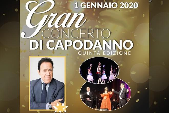 Gran Concerto di Capodanno 2020 al Teatro delle Palme
