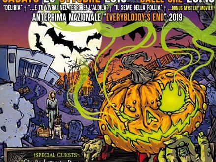 Halloween Marathon: doppio appuntamento da brivido con Everybloody's End e Aquarius Visionarius