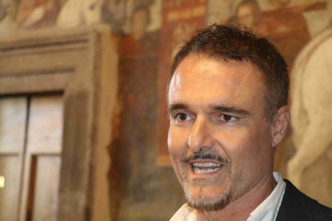Il Vicesindaco di Tarquinia, Luigi Serafini