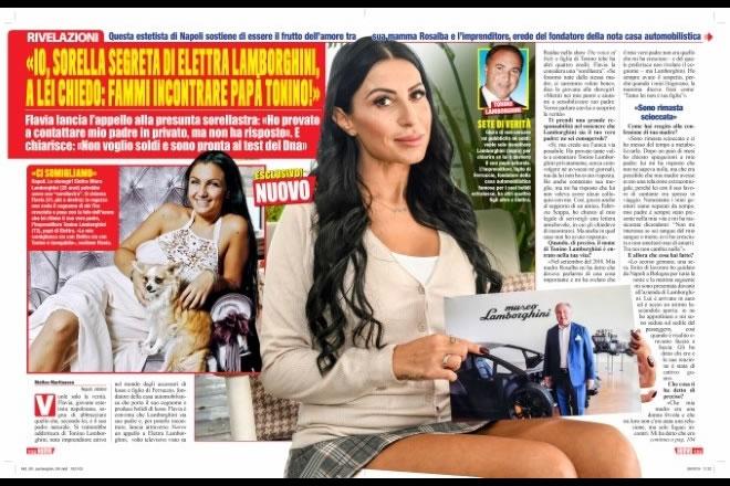 Il settimanale Nuovo che ha pubblicato l'intervista