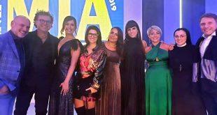 La giuria del Premio Mia Martini 2019 con Fatima Trotta