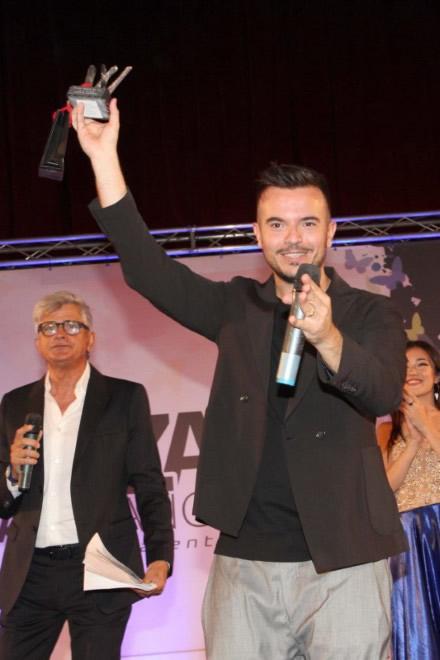 La premiazione di Andrea Sannino