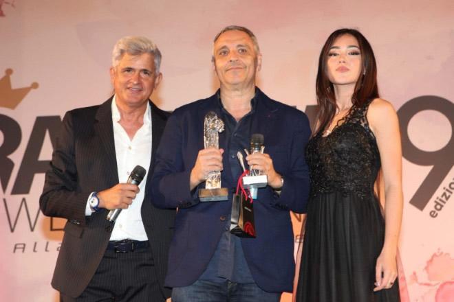 La premiazione di Maurizio De Giovanni