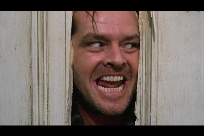 La scena cult di Shining in onda ad Halloween