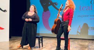 Le Ebbanesis live al NEST per la presentazione della nuova stagione teatrale. Foto di Carmine Luino