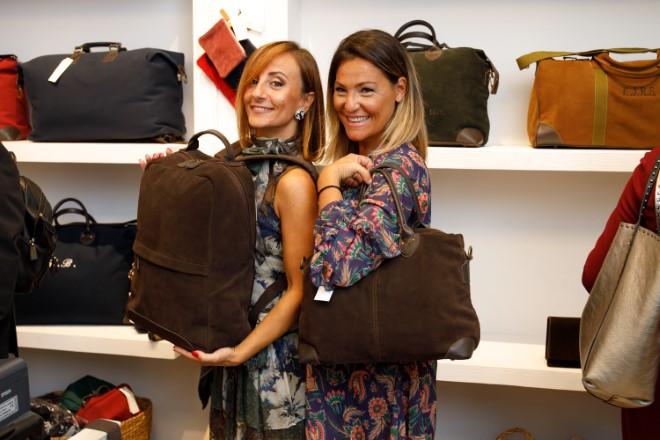 Le Sex and the Sud Floriana De Martino e Luisa Esposito all'evento di presentazione. Foto di Romolo Pizi
