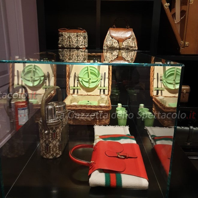 Lo stile degli accessori della mostra
