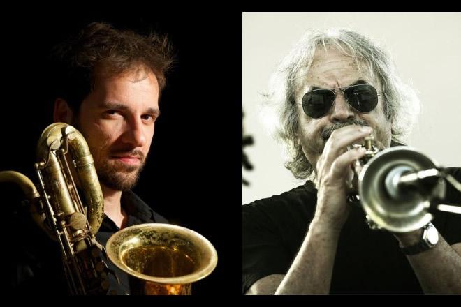 Marco Guidolotti ed Enrico Rava